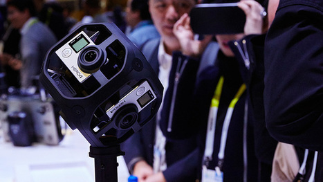 Virtuaalimaailman luonti onnistuu pian myös GoPro-kameroilla | Augmented Reality & VR Tools and News | Scoop.it