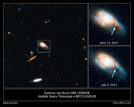 Hubble Reveals a New Kind of Stellar Blast Called a Kilonova   Amazing Science   Scoop.it