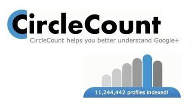 CircleCount : statistiques à foison sur Google+   Time to Learn   Scoop.it