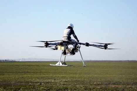 Flike Envisioned as a Personal Flying Bike of the Future | Technology | Scoop.it