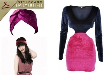 Daily Outfit: Velvet Vixen   StyleCard Fashion Portal   StyleCard Fashion   Scoop.it