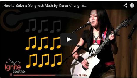 Explicando la relación entre música y matemáticas con estilo y humor | Matemáticas | Scoop.it