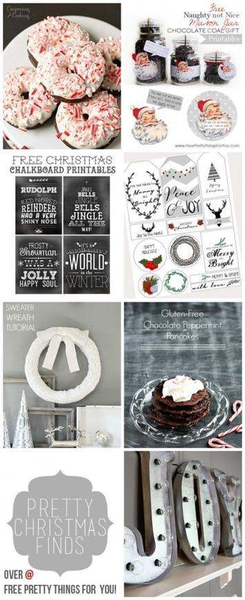 Homemade: Christmas gifts and ideas   Free Pretty Things For You   Zwyczaje bożonarodzeniowe   Scoop.it