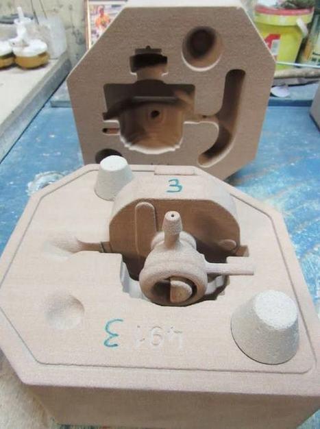 Une imprimante 3D à sable à la fonderie Boutté : rencontre avec son directeur | Forge - Fonderie | Scoop.it