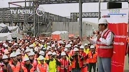 Chinalco inició producción de Toromocho con presencia de Ollanta Humala   minería   Scoop.it