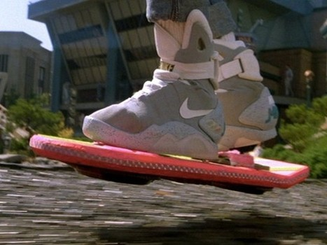 L'Hoverboard de «Retour dans le futur» va devenir une réalité ! | Fredzone | Ca m'interpelle... | Scoop.it