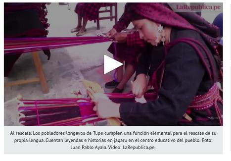 El jaqaru, la lengua ancestral de Lima, está a punto de desaparecer| VIDEO | MAZAMORRA en morada | Scoop.it