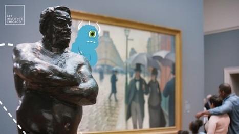 [ARTICLE CLIC] L'Art Institute of Chicago fait la promotion de ses nouveaux outils numériques dans une nouvelle campagne publicitaire | Clic France | Scoop.it