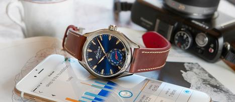 Alpina - La smartwatch suisse se la joue urbaine | La chronique Alpina | Scoop.it