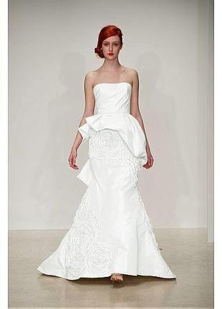 [279.99] Alluring Taffeta & Satin Strapless Neckline Natural Waistline A-line Wedding Dress - Dressilyme.com | Wedding dresses | Scoop.it