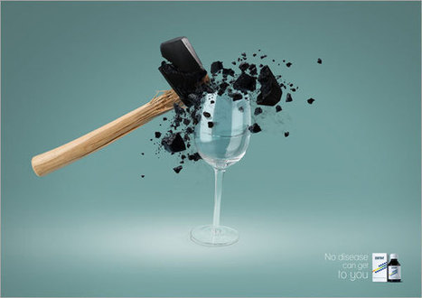 44 Advertising Posters with Clever Ideas   10Steps.SG   Photography Assignments   Scoop.it