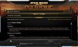 Patch notes 1.1.5 | SWTOR : Star Wars The Old Republic | Scoop.it
