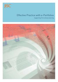 'Effective Practice with e-Portfolios' publication : JISC | Mahara ePortfolio | ePortfolios | Mahara ePortfolio | Scoop.it
