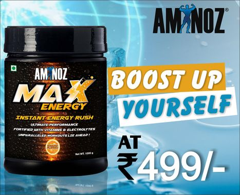 Best Energy Drink in India | Aminoz Health and Sports Supplements | Scoop.it