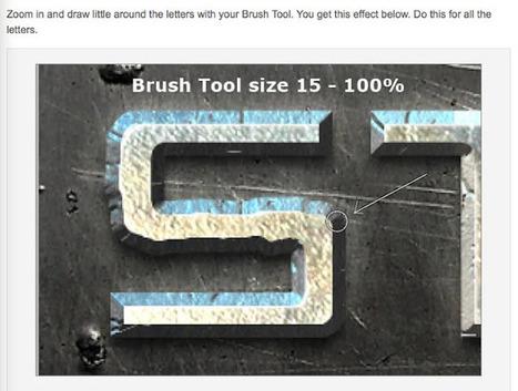 Video Effects Prod: Free PSD : créer un texte de métal. | ressources PHOTOSHOP | Scoop.it
