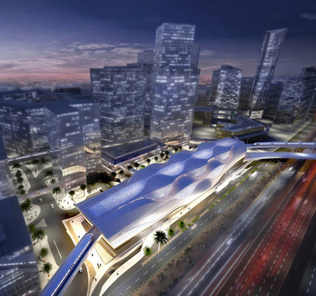 Zaha Hadid Will Design The Metro Station For Riyadh, Saudi Arabia - eVolo | Architecture Magazine | Urban Intelligence in Cities | Scoop.it