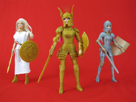 3D-Printed Open Source Medieval Armor for Barbie | Peer2Politics | Scoop.it