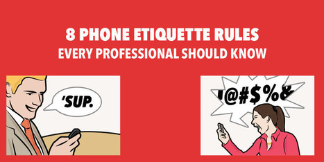 How to Use Your Smartphone Like a Professional (Educator Etiquette) | Educational technology , Erate, Broadband and Connectivity | Scoop.it