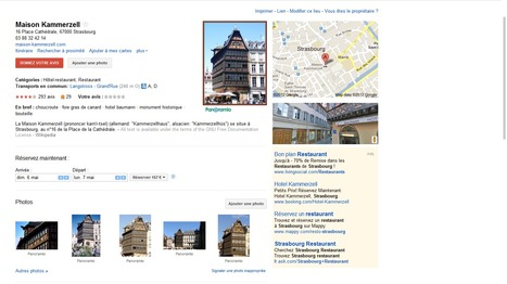 Optimiser son référencement local avec Google Adresse | Méli-mélo de Melodie68 | Scoop.it