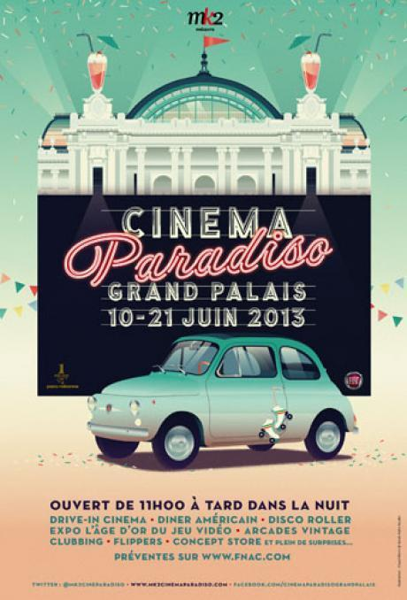 Cinema Paradiso - Grand Palais | Event & More | Scoop.it