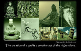 Carl Jung: But as the creation of a God is a creative act of highest love, the restoration of our human life signifies an act of the Below. | Carl Jung Depth Psychology | Scoop.it