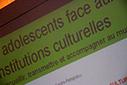 Conférence-débat - Adolescents au musée : comment accueillir, transmettre, accompagner ?, Compte-rendu, Institut National de la Jeunesse et de l'Education Populaire (Injep) | Data viz : pourquoi, comment? | Scoop.it