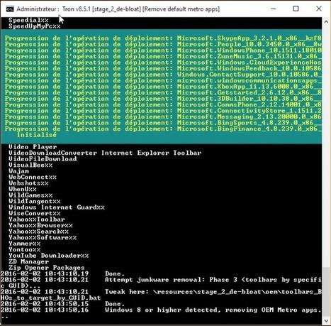 TronScript – Pour remettre en état un PC Windows en souffrance | Trucs et bitonios hors sujet...ou presque | Scoop.it