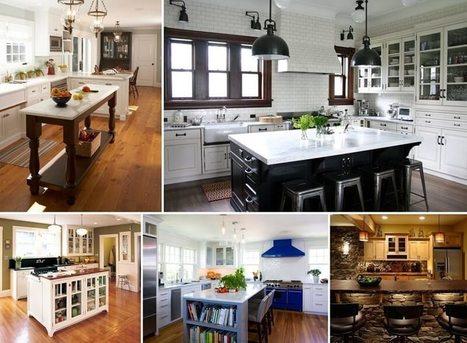 100 Amazing Kitchen Island Designs You Will Admire | Amazing interior design | Scoop.it