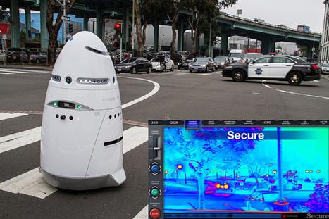 K5, le robot autonome, surveille le campus Californien de Microsoft   Robolution Capital   Scoop.it