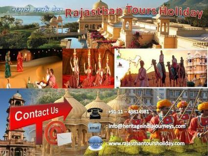 Rajasthan Tours Holiday- A Wonderful Land of History and Heritage by Chaya Gehlot | Golden India Triangle Tour | Scoop.it