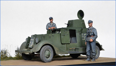Finnish Army BAB B armoured car | Military Miniatures H.Q. | Scoop.it