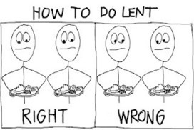 Pithless Thoughts: Orthograph #142 - How to Do Lent | The Amused Catholic: an Ezine | Scoop.it