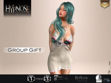 Lovetchnic Dress Group Gift by Hypnose | Teleport Hub - Second Life Freebies | Second Life Freebies | Scoop.it