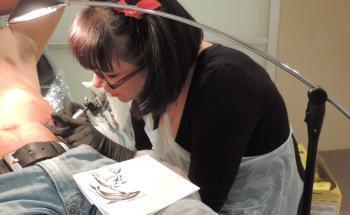 Saverdun. Le tatouage selon Diloo - La Dépêche   Razorback Tattoo   Scoop.it