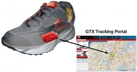 GPS-equipped shoes | Web of Things | Scoop.it