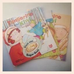 Meet Tangerine and Kiwi: the Foodie Kid Explorers | Tangerine and Kiwi Mandarine et Kiwi | Scoop.it
