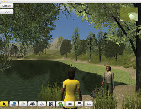 Integrating Knowledge Across Virtual Worlds | Concord Consortium | E-Learning and Educational Reform | Scoop.it