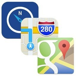 iOS Maps Showdown: Apple Maps, Google Maps, And Nokia HERE Compared | Edtech PK-12 | Scoop.it