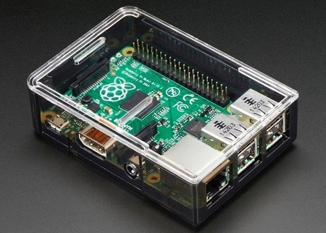 Adafruit Raspberry Pi B+ Case Unveiled - Geeky Gadgets | Fab(rication)Lab(oratories) | Scoop.it