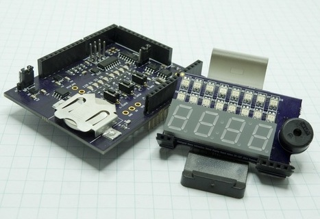 Arduino Shield And Web Based I2C and SPI Education System | Arduino Focus | Scoop.it