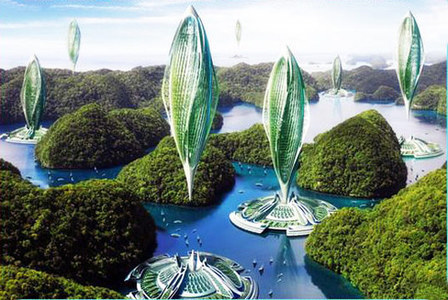 Could Hovering Buildings be the Future of Sustainability? | Cities and buildings of Tomorrow | Scoop.it