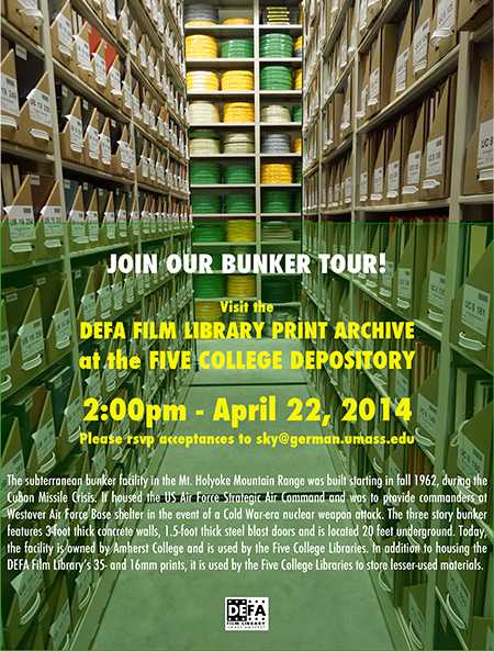 DEFA Film Library Print Archive | Dept. Languages, Literatures and Cultures at the University of Massachusetts Amherst | Scoop.it