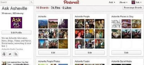 Asheville and Pinterest | Social Media & Networking | Scoop.it