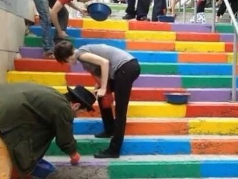 En Turquie, le pot de peinture comme arme de protestation massive - Rue89   responsabilité sociétale   Scoop.it