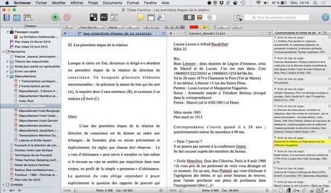 Scrivener, un outil d'écriture créative - La boîte à outils des historiens | Nos Racines | Scoop.it