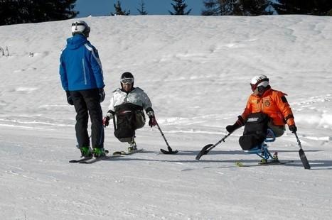 Un tour per insegnare i disabili a sciare | Disabili. «La felicità è in quello che si ha» | Scoop.it