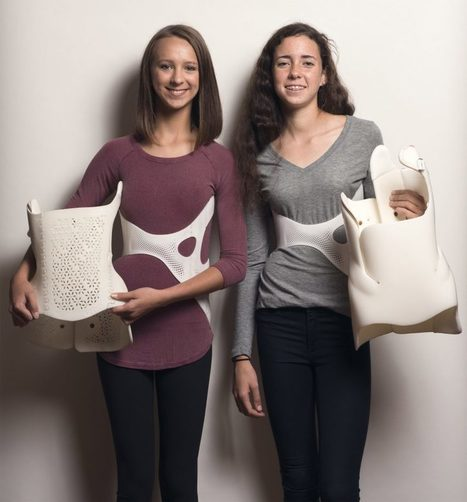 """3D-printed back brace offers """"fashionable"""" solution for scoliosis sufferers 