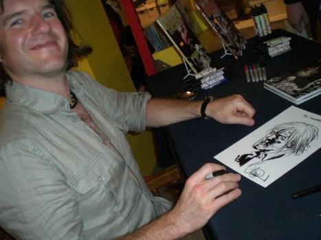 The Walking Dead Comic Artist Inks Charlie Hebdo Tribute - Undead Walking | OddBasement.com | Scoop.it
