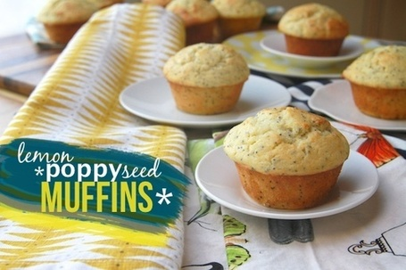 Lemon Poppy Seed Muffins – Shutterbean | À Catanada na Cozinha Magazine | Scoop.it
