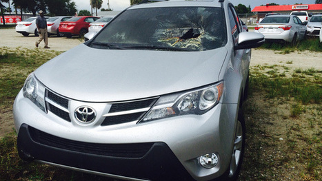 Lightning blasts hole in Brevard County car | Safety Tips | Scoop.it